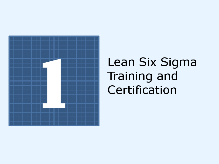 Square One Clubs - Lean Six Sigma Training and Certification - Day 4 ...